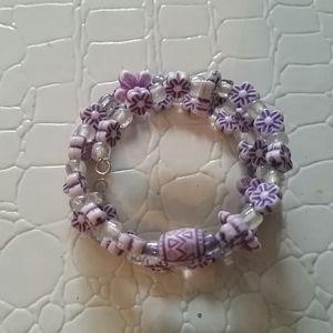 Little girls handmade bracelet